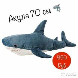 Мягкие игрушки - Мягкая игрушка Акула 70 см, 0