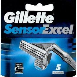 Бритвы и лезвия - Сменные кассеты Gillette Sensor Excel 5шт и 10шт, 0