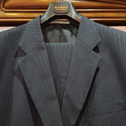 Костюмы - Деловой костюм мужской (серый), 0