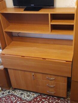 Компьютерные и письменные столы - Письменный стол складной, 0