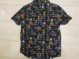 Рубашки - Рубашка новогодняя Next, р.146-152, 0