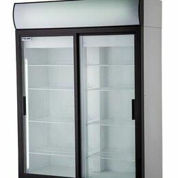 Холодильные шкафы - Шкаф холодильный 1000 л, DM110-Sd (1+10С),  1402х710х2028 мм, двери купе, Полаир, 0