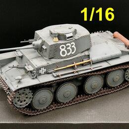 Сборные модели - 1/16 модель танка 38Т Прага Pz.Kpfw.38(t) LT vz.38, 0