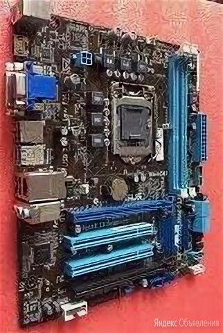 Материнская плата 1155 Asus P8B75-M (USB 3.0 Pci-E 3.0) по цене 3500₽ - Материнские платы, фото 0