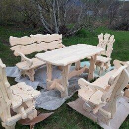 Комплекты садовой мебели - Продаётся  садовая, мебель из масива, цвет на ваше  усмотрениее цена 40000, 0