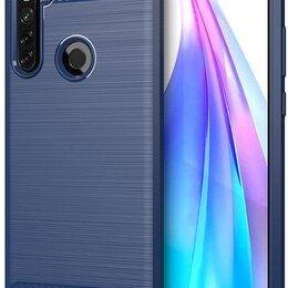 Чехлы - Чехол для Xiaomi Redmi Note 8T цвет Blue (синий), серия Carbon от Caseport, 0