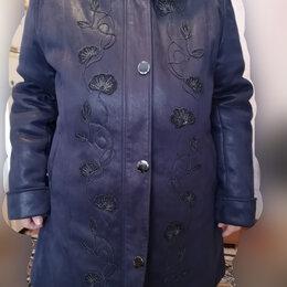 Куртки - Куртка-пальто зимняя женская новая 56-58 размер, 0