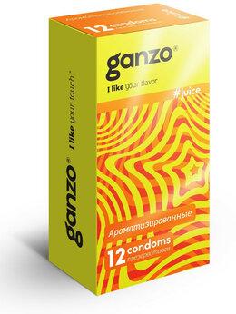 Презервативы - Ароматизированные презервативы Ganzo Juice - 12…, 0