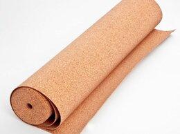 Пробковый пол - Пробковая подложка 2мм (рулоны) Corksribas…, 0