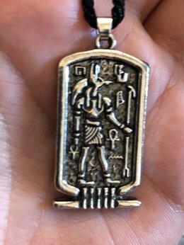 Кулоны и подвески - Кулон оберег от порчи и сглаза Египетский Бог, 0