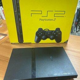 Игровые приставки - Игровая приставка Sony PS2 чипованная, 0