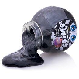 """Игрушки-антистресс - Слайм Slime """"Mega Mix"""" черный + белый 500 г., 0"""