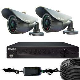 Камеры видеонаблюдения - Комплект видеонаблюдения для улицы на 2 камеры…, 0