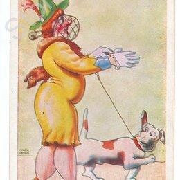 Конверты и почтовые карточки - Венгрия - юмор.Почтовые карточки. Открытки.3 шт. 1944 г., 0