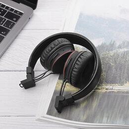 Наушники и Bluetooth-гарнитуры - Беспроводные наушники стерео Hoco Easy Move W19 чёрные, 0