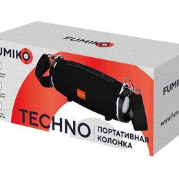 Портативная акустика - Портативная колонка FUMIKO TECHNO черная, 0