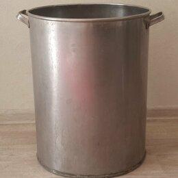 Бочки, кадки, жбаны - Бак из нержавеющей стали с ручками 52 литра, 0