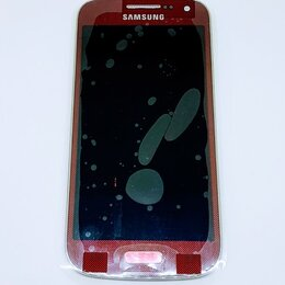 Дисплеи и тачскрины - Дисплей Samsung i9190 Galaxy S4 mini модуль красный GH97-14766F Оригинал, 0