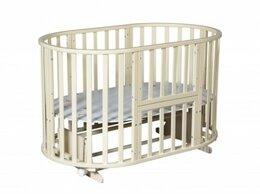 Кроватки - Кровать-трансформер Северянка 6 в 1 с маятником.…, 0