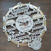 Часы деревянные со словами по цене 2750₽ - Часы настенные, фото 3