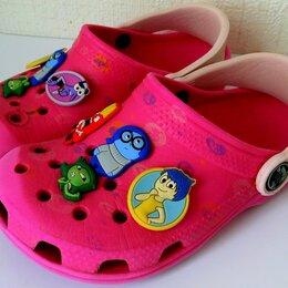 Шлепанцы - Кроксы (Crocs) на девочку (р.27-28), 0