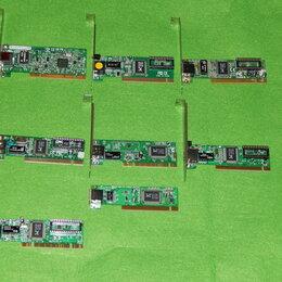 Сетевые карты и адаптеры - Сетевые карты PCI  много, 0