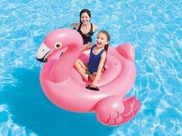 Аксессуары для плавания - Надувной круг «Розовый фламинго», 0
