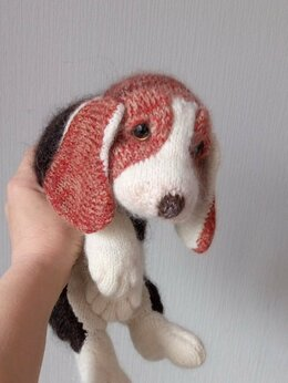 Мягкие игрушки - Бигль, щенок, 0