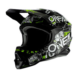 Мотоэкипировка - Шлем кроссовый O'NEAL 3Series ATTACK 2.0, 0