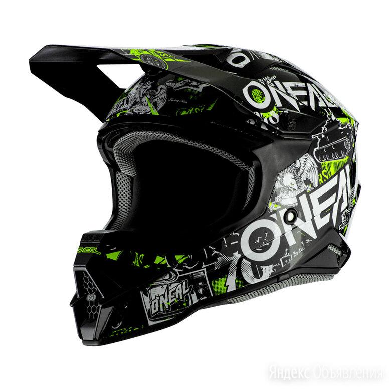 Шлем кроссовый O'NEAL 3Series ATTACK 2.0 по цене 12900₽ - Мотоэкипировка, фото 0