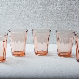 Бокалы и стаканы - Стаканы-стопки, Карамельное стекло. СССР, 0