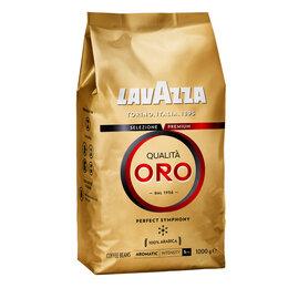 """Ингредиенты для приготовления напитков - Кофе в зернах Lavazza """"Qualità. Oro"""", вакуумный пакет, 1кг, 0"""