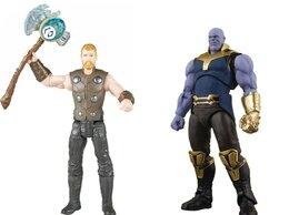 Игровые наборы и фигурки - Набор супергероев Тор и Танос в коробке, 0