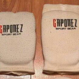 Перчатки для единоборств - Перчатки мягкие, тканевые, 2 пары: средние и большие., 0