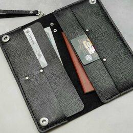 Кошельки - Тонкое портмоне из натуральной кожи. Шью из кожи, 0