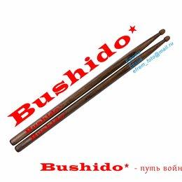 Барабанные палочки, щетки, руты - Барабанные палочки  5B материал Чёрный Дуб Подарочные  Bushido - путь война, 0