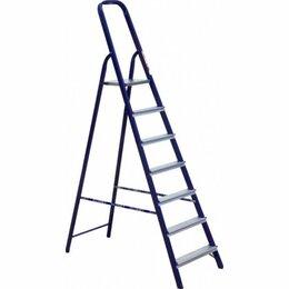 Лестницы и стремянки - Стремянки АЛЮМЕТ Стремянка стальная 7 ступеней…, 0