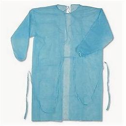 Одежда - Халаты одноразовые медицинские, 0