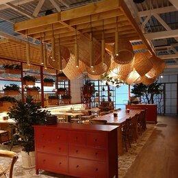 Люстры и потолочные светильники - Плетеные плафоны для рестораны, 0
