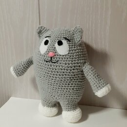 Мягкие игрушки - Кот. Ручная работа, 0
