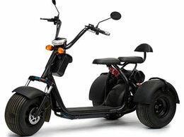 Мототехника и электровелосипеды - Электробайк CityCoco Skyboard BR60 (чёрный), 0