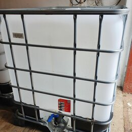 Навесное оборудование - Еврокуб, емкость пластиковая 1000 л, 0