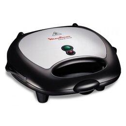 Сэндвичницы и приборы для выпечки - Сэндвичница вафельница Moulinex SW611812 3 в 1, 0