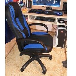 Компьютерные кресла - Игровое геймерское кресло VIKING-9 синий, 0