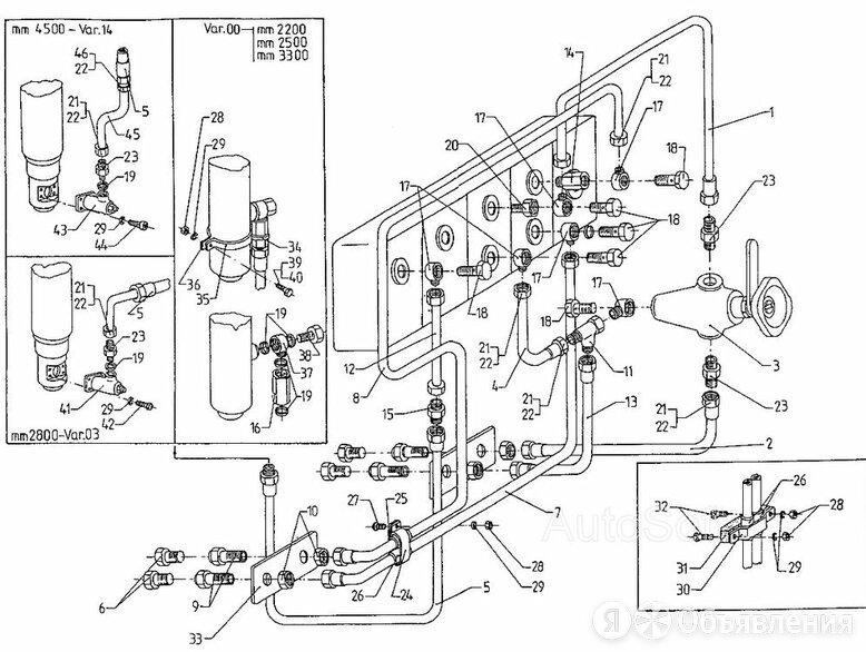 Гидравлическая система ЕВ 687 (Вариант 5) по цене 1₽ - Водопроводные трубы и фитинги, фото 0