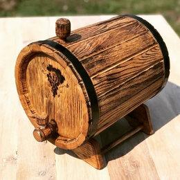 Бочки, кадки, жбаны - Бочка дубовая 6 литров для алкогольных напитков, 0