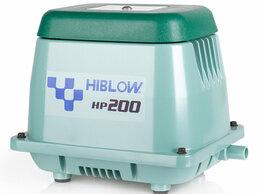 Воздушные компрессоры - Hiblow HP-200 компрессор для септика и пруда…, 0
