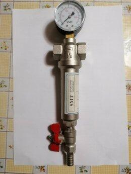 """Фильтры для воды и комплектующие - Самопромывной фильтр SMART 1/2"""" с манометром, 0"""