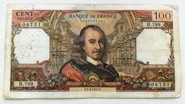 Банкноты - Франция 100 франков 1974 г., 0