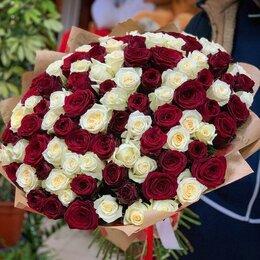 Цветы, букеты, композиции - 101 роза. Букет №88, 0